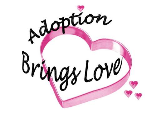 """Pink Hearts Adoption Design"""